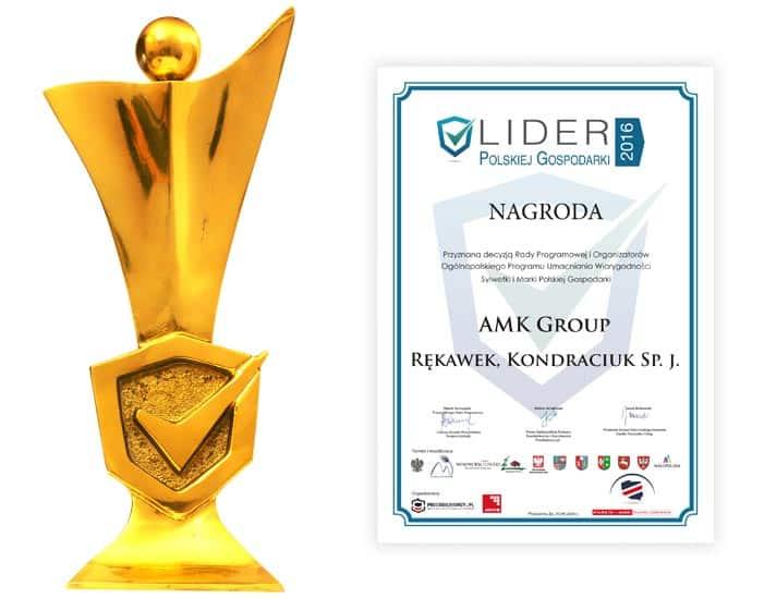 AMK Group- Lider Polskiej Gospodarki 2016