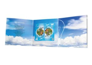 Ulotka reklamowa - drukarnia AMK Group