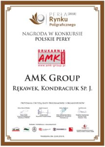 AMK Group Certificate